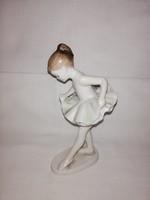 Hollóházi balerinás kislány!