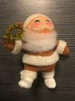 Régi mikulás, télapó karácsonyfadísz