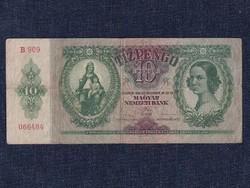 Háború előtti sorozat (1936-1941) 10 Pengő bankjegy 1936 / id 11854/