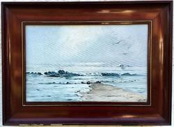 Hullámzó tenger... 1907