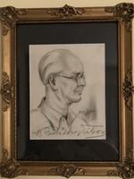 Szantrucsek Jenő    K.Pikéthy Tibor portré