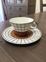 Régi GRÁNIT csésze és csészalj