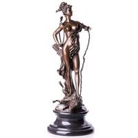 Diana a vadászat istennője - monumentális bronz szobor