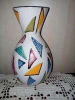 FOREIGN német, mázas kerámia váza