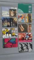 89 darabos telefonkártya gyűjtemény