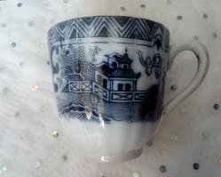Antik Villeroy&Boch fajansz kávés csésze