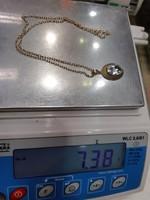 Karácsonyi akció!!! Anker 14 K. arany nyaklánc 3,78 g(medál nélkűl)