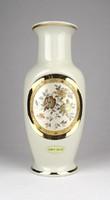 0Y418 Kyoto 24K aranyozott porcelán váza 21 cm
