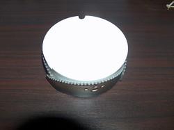 Modern hamutartó bőr-porcelán kombináció