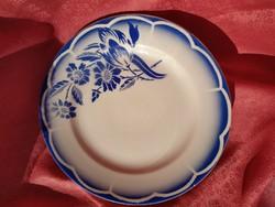 Gyönyörű francia porcelán sütis tányér
