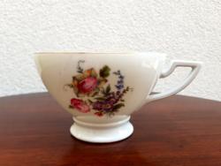 Régi porcelán art deco talpas csésze H C Schlaggenwald