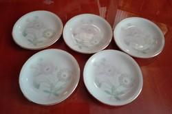 5 db Bavaria desszertes tányér, átmérője 10,5 cm