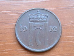 NORVÉGIA 5 ŐRE 1952 #