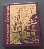 Minikönyv - Szentendre
