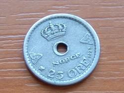 NORVÉGIA 25 ŐRE 1927 #