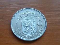 HOLLAND 1 GULDEN 1970 NI. #