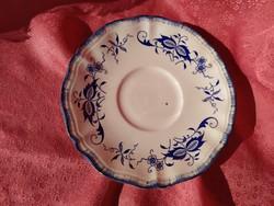 Antik porcelán kis tányér