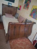 Antik ágykeret párban