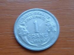 FRANCIA 1 FRANC FRANK 1945 ALU. #