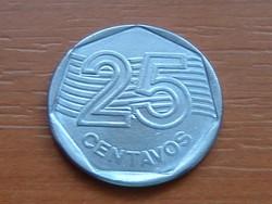 BRAZÍLIA BRASIL 25 CENTAVOS 1995 #