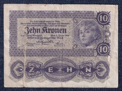 Ausztria 10 Korona 1922 / id 10738/