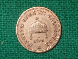 1 Fillér 1900 !