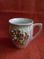 Szecessziós porcelán csésze