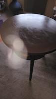 Régi retró asztal felújítva eladó
