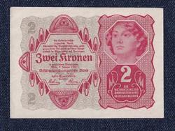 Ausztria 2 Korona 1922 / id 11723/