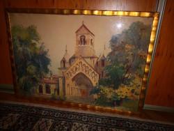 Lápossy Hegedűs Géza (Budapest, 1875 - 1929) - Román templom