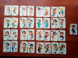 Fekete Péter gyerek kártya teljes