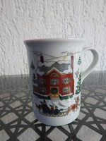Karácsonyi porcelán bögre