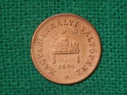 1 Fillér 1894 !