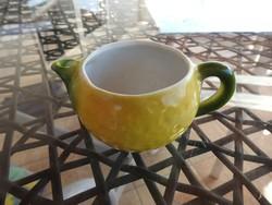 Gerald Porzellan Bavaria - citrom alakú tejszines kiöntő