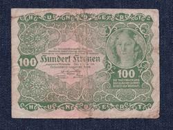 Ausztria 100 Korona 1922 / id 10754/