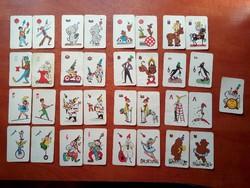 Cirkusz gyerek kártya teljes Ritka