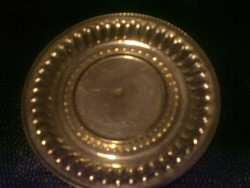 Jelzett Ezüst Gyűrűtartó Tálka (30,9 gramm) Ajándék Ezüst Jelzett Kereszt Medál