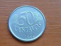 BRAZÍLIA BRASIL 50 CENTAVOS 1994 #