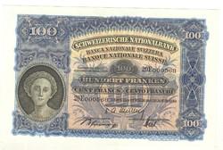 100 frank franken 1949 Svájc
