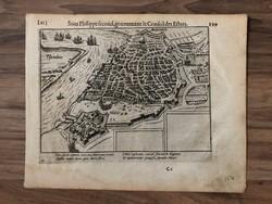 1576 Antwerpen térkép