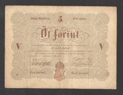 5 forint 1848. BARNA!!  NAGYON SZÉP!!