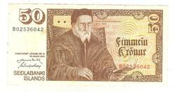 50 kronur 1961 Izland