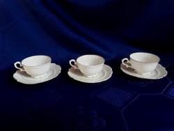 2952- Bavaria csontszínű mokkás csésze aljjal