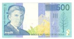 500 frank francs 1998 Belgium