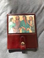 Retro ABBA műbőr pénztárca