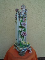 Ritka antik szecessziós hatalmas váza cca 1850 évek