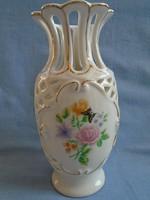 Jean Pouyat Limoges? váza 100% HIBÁTLAN 17 CM
