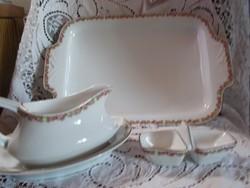 Porcelán sültes tál