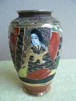 Porcelán keleti mintás váza