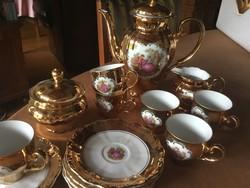 Seltmann weiden, porcelán kávés készlet, 6 személyes, (37)
